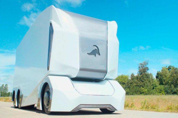 Шведский прототип автономного грузовика