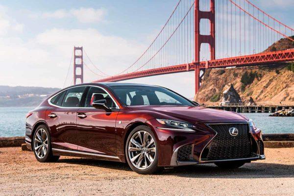 Концепт автомобиля Lexus LS с автономной системой вождения