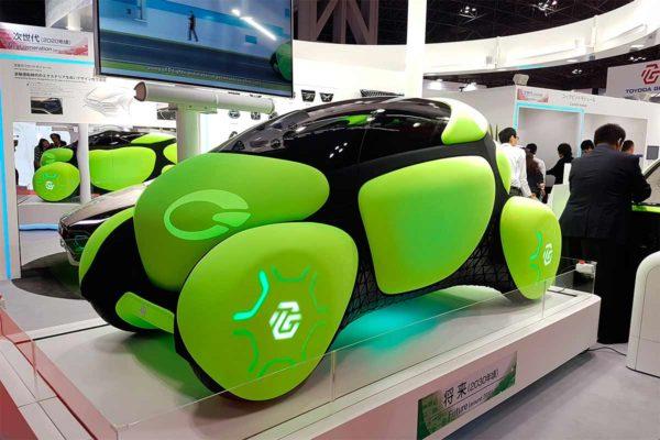 Toyoda Gosei представит концепт Flesby II с мягким кузовом