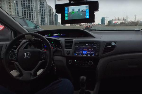 Система LaneCruise превратит любой автомобиль в беспилотник
