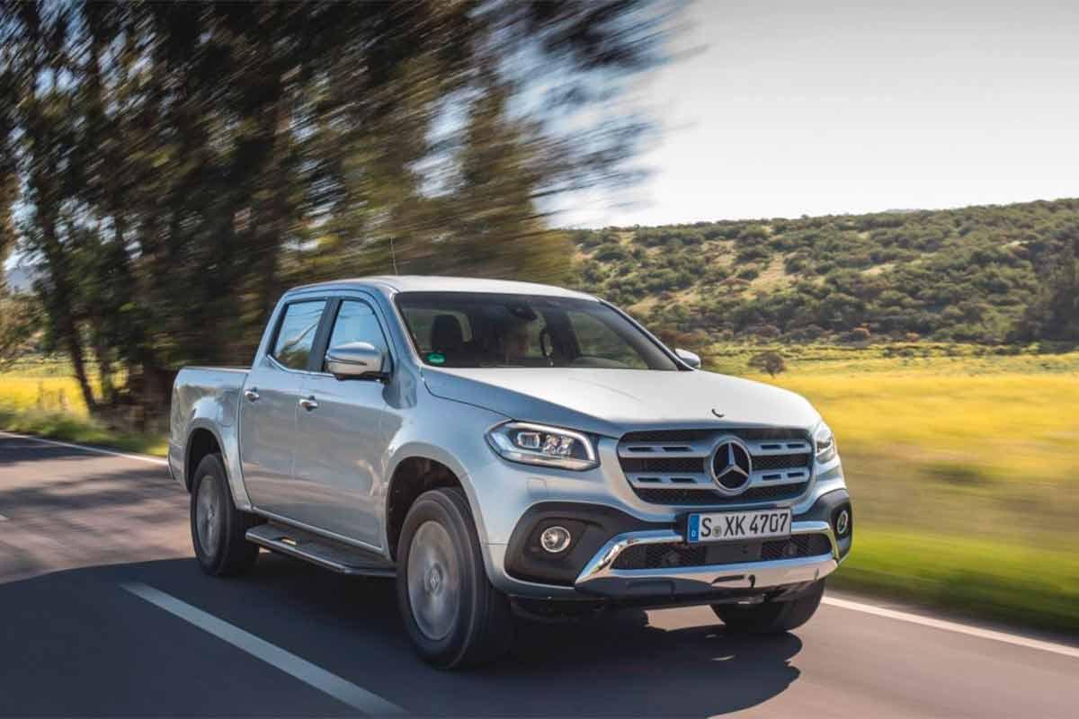 Mercedes-Benz X-class Pickup 2018