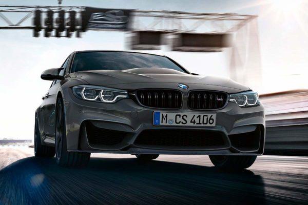 BMW представил мощнейший седан M3 CS