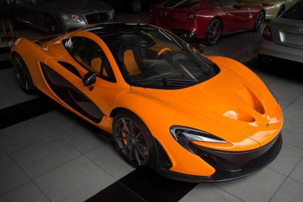На продажу выставлен редкий McLaren P1