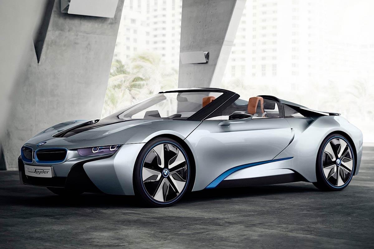 Сборка нового родстера BMW i8