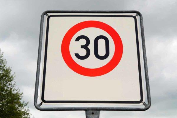 До 30 км/ч снизят скорость в некоторых населённых пунктах