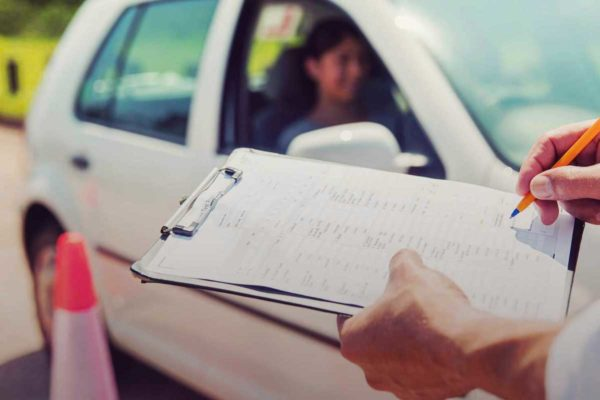 Экзамен на получение водительских прав