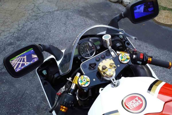 Зеркала на мотоцикле