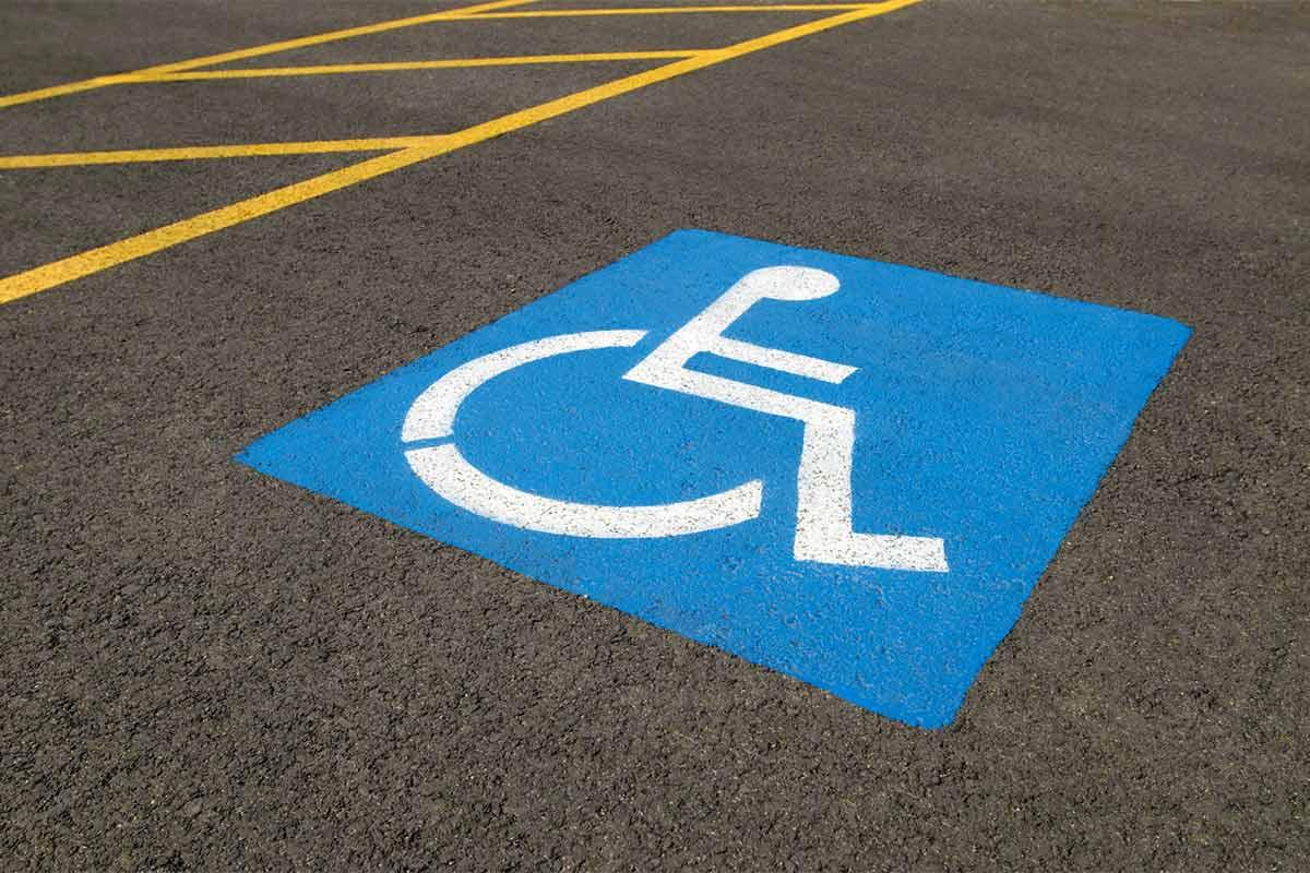 Штраф за стоянке на парковке для инвалидов
