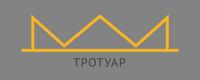 Жёлтая линия неправильной формы